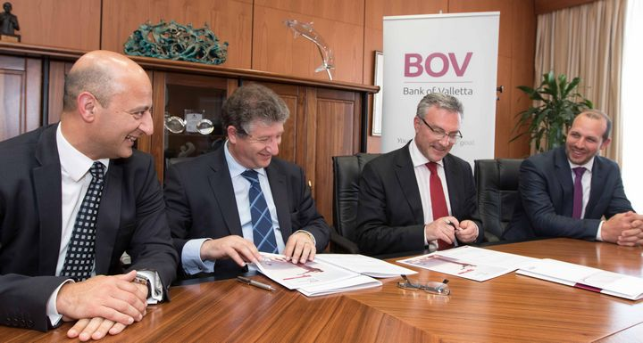 Bank of Valletta renews its support to the Gozo Business Chamber