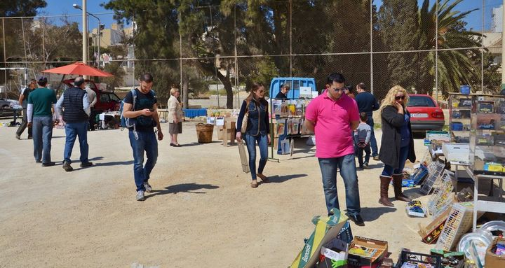 Charity Fair organised by the Friends of the Sick & Elderly Gozo