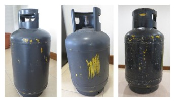 Illegally painted grey gas cylinders a threat to consumers, says Liquigas