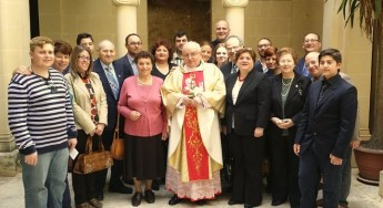 Mgr Joseph Gauci: Celebrates 50th anniversary of his Presbyterial Ordination