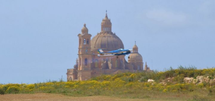 Model aircraft flying event as part of the Gozo Festival of Sport weekend