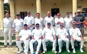 2 UK touring teams take on Marsa in an entertaining weekend of cricket