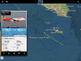 Air Malta Captain follows on his Valentine's fairytale proposal