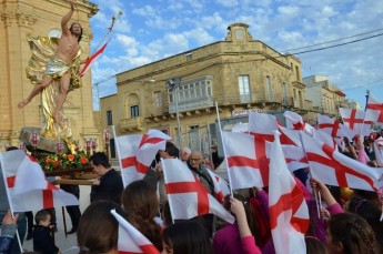 Grand Easter Pageant and Festival held on Easter Sunday in Xaghra
