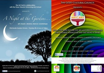 'A Night at the Gardens' - Arts, drama, music, dance & much more.....