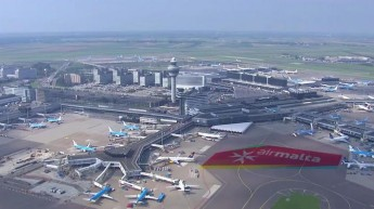 Air Malta celebrates 40 years at Amsterdam's Schiphol Airport