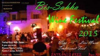 'Bis-Sahha' traditional annual Wine Festival in Santa Lucija, Gozo