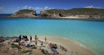 Swimmer Zone in the Blue Lagoon, Comino - Information for boat owners