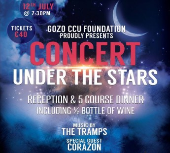 'Concert Under The Stars 2015' in aid of the Gozo CCU Foundation