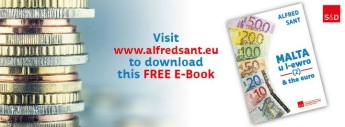 Malta & the Euro: Free e-book researched & written by Alfred Sant
