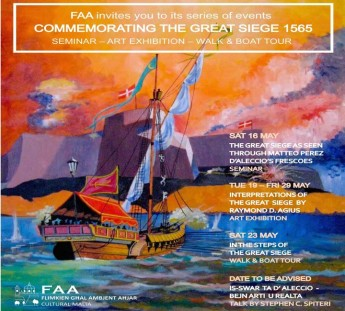 FAA events commemorating 450th anniversary of the Great Siege of Malta