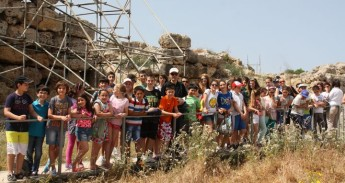 Tolfa students in exchange visit to Gozo College Rabat Primary