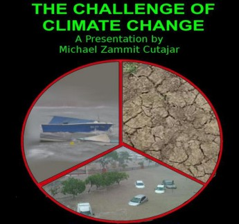 Michael Zammit Cutajar public Lecture on the Challenge of Climate Change
