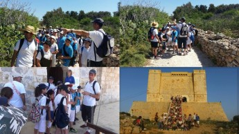 Gozo College educational outings to the island of Comino
