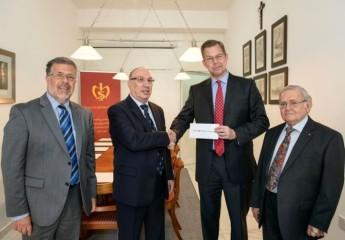HSBC donation of €5,000 to the Malta Historical Society