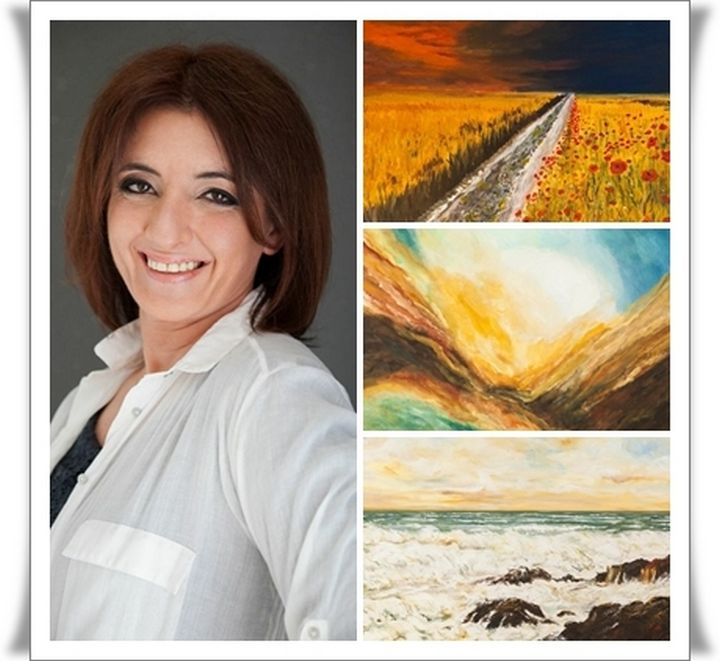 Exhibition of paintings by Josette Fenech at Heart of Gozo museum