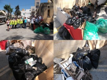 Lets Do it Gozo collects 150Kg of rubbish in Marsalforn clean-up