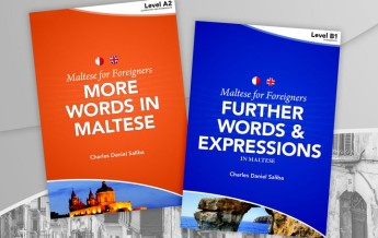 Maltese for Foreigners: 2 new books & audio CD by Charles Daniel Saliba