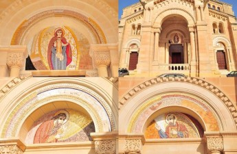 Sacred Art in mosaics by Fr Marko Ivan Rupnik at Ta' Pinu National Shrine