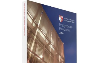 University of Malta Postgraduate Prospectus 2015/16 launched