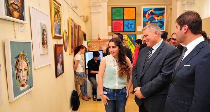 Gozo Visual and Performing Arts School annual exhibition in Victoria