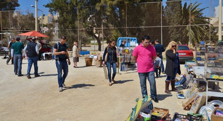 The Friends of the Sick and Elderly Gozo charity fundraising fair