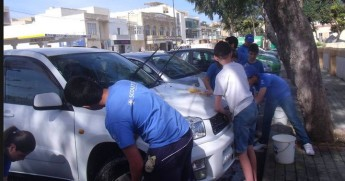 Victoria Scout's charity car wash raises over €1500 for Arka & OASI