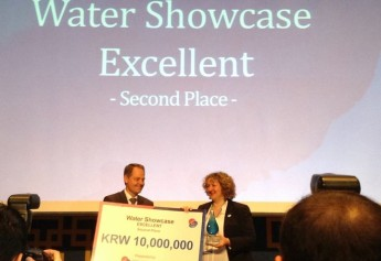 Alter Aqua programme placed second at the 7th World Water Forum