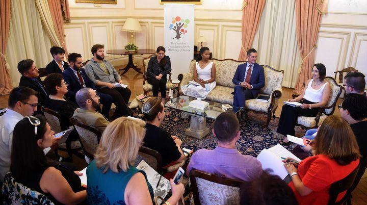 LGBTIQ NGOs from Malta & Gozo meet U.S. Special Envoy Randy Berry
