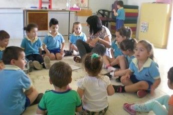 GC Zebbug Primary students enjoy Aqra Mieghi/Read with Me sessions