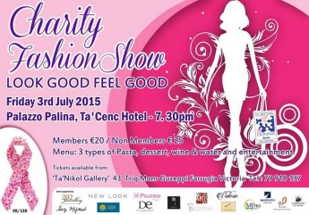Look Good Feel Good: Europea Donna Malta charity fashion show in Gozo
