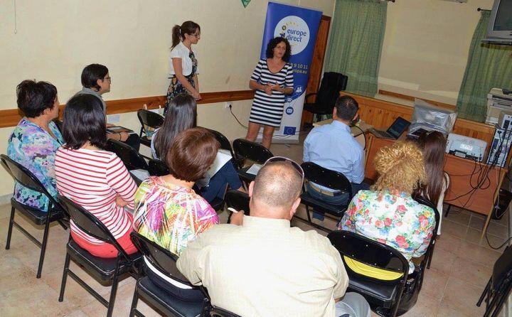 EU Programme Erasmus+ information session held in Gozo