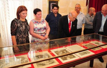 Exhibition of engravings of St John the Baptist in Xewkija