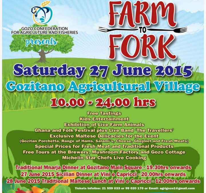 Farm to Fork: Food, animals & entertainment at Gozitano Agricultural Village