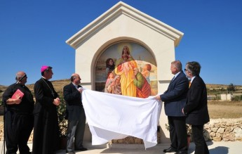 'Pilgrims Way' inaugurated at Ta' Pinu, together with blessing of 5 frescoes