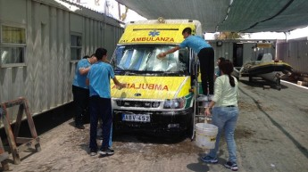 Gozo College students do voluntary work at ERRC headquarters