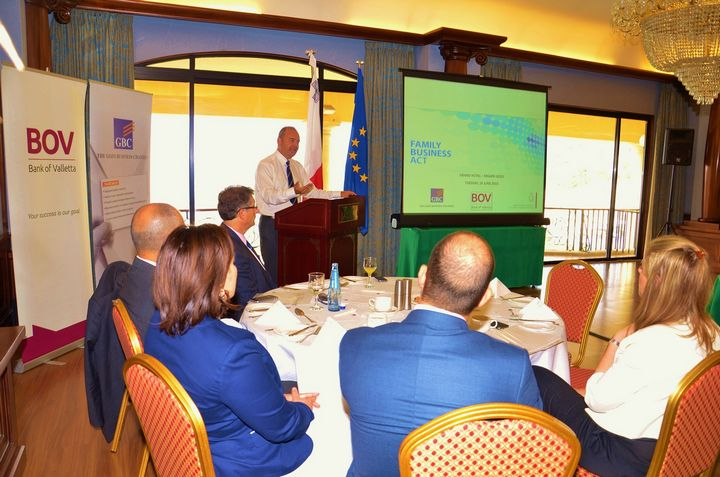 Gozo Business Breakfast discusses the new Family Business Act
