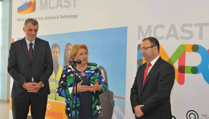 MCAST launches new Prospectus for full-time courses at EXPO opening