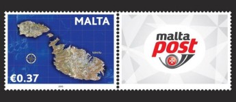 "MaltaPost reprint of €0.37 stamp of the ""Occasions"" stamp issue 2010"