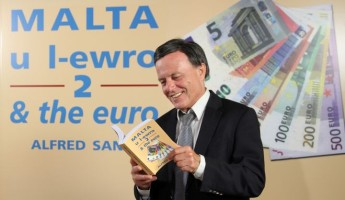 Alfred Sant's Euro book launch coincides with Greek showdown