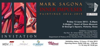 Inner Impulses: Exhibition by Mark Sagona at Heart of Gozo museum