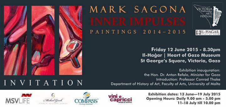 Inner Impulses: Exhibition by Mark Sagona at Heart of Gozo museum