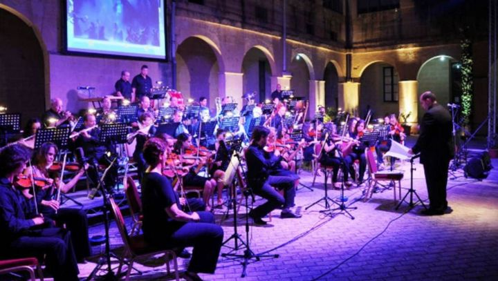 Opera vs Pop Under the Stars 2016 with the Gozo Youth Orchestra