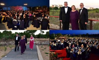Ggantija Temples is the backdrop for 2nd edition of the President's Ball
