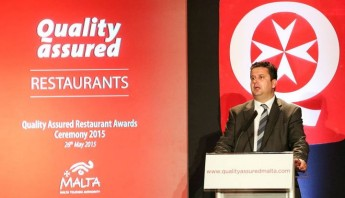 15 Gozitan catering establishments receive Quality Assurance Awards