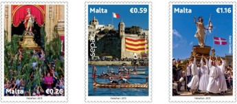 Philatelic postage stamp issue in the SEPAC Series: Culture