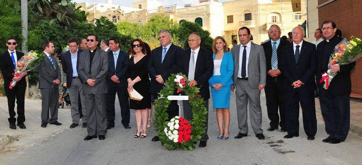 Gozo commemorates the Sette Giugno 1919 riots during Xaghra ceremony