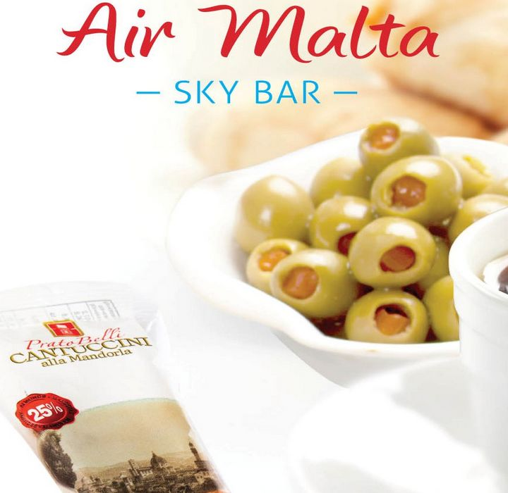 Air Malta adds more choice by launching a Sky Bar Menu