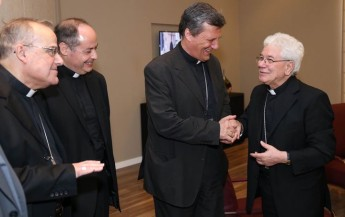 Gozo Bishop welcomes the new Apostolic Nuncio to Malta