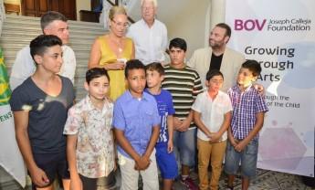BOV Joseph Calleja Foundation 'Growing through Art' children's programme